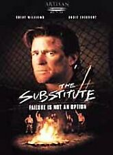 Substitute, The - Failure Is Not An Option (DVD,2001) MINT CONDITION !! W/INSERT