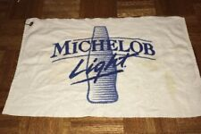 Michelob Light Beer Golf Bag Towel Vintage Made In Usa