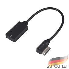 Bluetooth AUX Audio Adapter Kabel USB VW Audi Seat Skoda Media In MDI AMI MMI DE