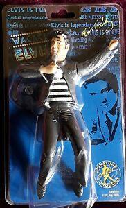 Original Wackel Elvis, Wackelfigur Elvis, schwarz *Jailhouse Rock*