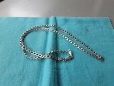 925 sterling silver curb chain 20 Inches long