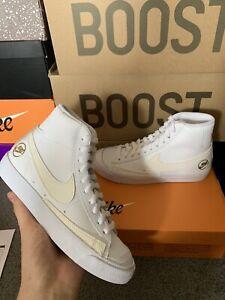 Nike Blazer Mid Vintage '77 - White / Salil / Gold - Womens Size 3 Brand New