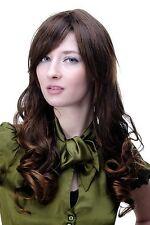 Perruque pour Femme Marron Raie Bouclé Cheveux Longs Env 60 cm 9319-2t30