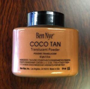 Ben Nye Coco Tan Authentic Translucent Face Powder 1.5 oz