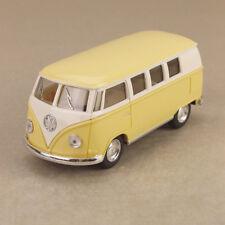 1962 Volkswagen VW Hippy Van Kombi Microbus T2 Yellow 1:32 13cm Diecast Model
