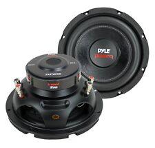 """2) PYLE PLPW8D 8"""" 1600W Dual Voice Coil 4-Ohm Car Audio Subwoofers Speakers"""