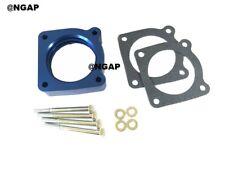 Blue Throttle Body Spacer For 02-06 Nissan Altima 2.5L & Sentra SE-R SPEC V 2.5L
