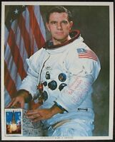 s1436) STS 51-F Astronaut Karl G. Henze - NASA Photo OU Autograph UNISPACE 1982