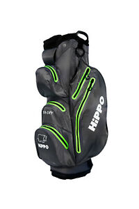 HIPPO STA-DRY 100% Waterproof 14 WAY Golf Cart/Trolley Bag Ultralight G/L RP£279
