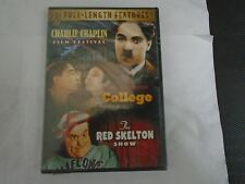 Charlie Chaplin/College/The Red Skelton Show (DVD) 3 Film Festival Features NEW