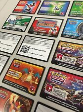 Pokemon TCG ONLINE : VIRTUAL CARD 15 NEW EX & MEGA CODE LOT