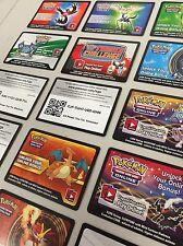 Pokemon TCG ONLINE : VIRTUAL CARD 15 NEW EX & MEGA CODE LOT