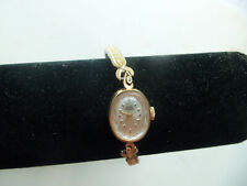 14k Yellow Gold Lucien Piccard Women's Hand-Winding 17Jewel Watch