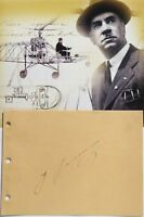 Igor Sikorsky Aviation Pioneer & Designer Of Helicopters & Aircraft Autograph ..