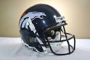 Vtg Denver Broncos Custom Jay Cutler Game Riddell VSR4 Football Helmet 2008