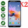 2pc Tempered Glass Screen Protector Cover For Huawei Honor 8 Lite 6 x 7x  8 9 10