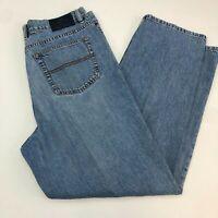 Indigo Palms Denim Jeans Mens 36x32 Blue 5-Pocket Classic Fit Casual 100% Cotton