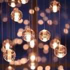 Modern Clear Glass Globe Shade Mini Ceiling Pendant Light DIY Hanging Fixtures