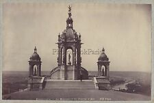 Bonsecours Monument de Jeanne d'Arc France Vintage albumine ca 1890