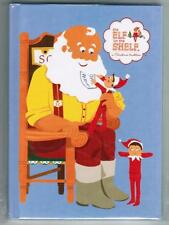 Elf On The Shelf Hardcover Blue Notebook Journal Diary Lined Paper Santa Elves