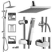 Regendusche Set Duschset Duscharmatur Duschkabine Duschstange Duschkopf Brause