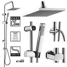 Überkopfbrause Set Dusch Set Metall-Duschstange Handbrause Dusche Duschsäule TDS
