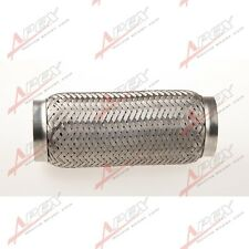 "3"" Exhaust Flex Pipe 8"" length Stainless Steel Coupling Interlock"