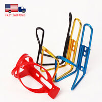 2PCS Drink Water Bottle Cage Cup Flask Holder MTB Bike  Aluminum Alloy/Plastic