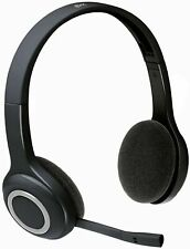 Logitech H600 Wireless Headset, Noise Cancelling Mic, On-Ear Controls, BRAND NEW