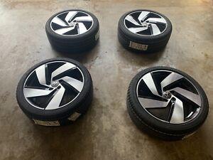 NEW ORIGINAL  FACTORY VW GOLF GTI RICHMOND ALLOYS WITH NEW BRIDGSTONE TYRES