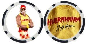 HULK HOGAN - POKER CHIP - BALL MARKER ***SIGNED***