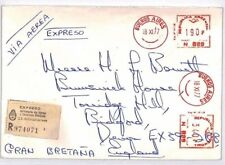 BQ325 1977 Argentina METER MAIL Commercial EXPRESS Airmail Cover {samwells}