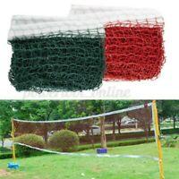 Rosso/Verde Altezza Badminton Pallavolo Tennis Spiaggia Rete Set Interni Esterni