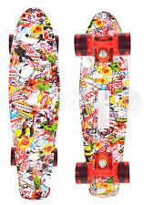 Skateboard Pennyboard Funboard Komplettboard Abec7 Board Skate 57 x 15cm