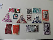 Mint Hinged Postage Monacan Stamps