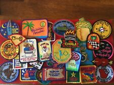 25  -  VINTAGE -  GIRL SCOUT - FUN/EVENT PATCHES - - see photos