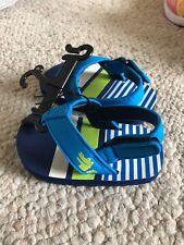 Walmart Brand Flip Flop Sandals W Adjustable Back Boys Size 5 Alligator