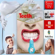 2018 PATENT NEW CLEANING PEN SPONGE STAIN REMOVER TEETH WHITENING DENTAL KIT