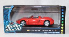 Motor World 1/43rd Scale Porsche Carrera GT, Red