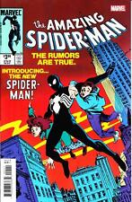 AMAZING SPIDER-MAN #252 FACSIMILE EDITION BLACK COSTUME VENOM LIKE THE ORIGINAL