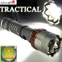 5000LM Zoomable CREE XML T6 LED 18650 Flashlight Focus Torch Zoom Lamp Light USA