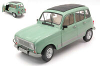 Model Car Scale 1:18 solido Renault 4L Gtl R4 diecast vehicles road