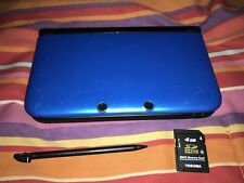 Nintendo 3DS XL Blue Black Handheld System Only Tested