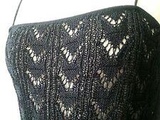 Dolce&Gabbana black crochet dentelle lace dress LBD 42