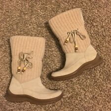 Steve Madden Brown Tassel Winter Boots Size 7.5