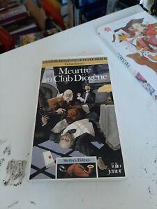 Meurtre au Club Diogène - LDVELH Sherlock Holmes T.1 - Gerald Lientz - 1992 BE