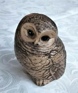 LOVELY POOLE POTTERY OWL FIGURINE BY BARBARA LINLEY