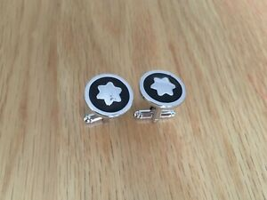 Mont Blanc Cufflink, made of solid brass and chrome,*free 1st class post*