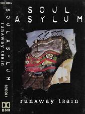 SOUL ASYLUM RUNAWAY TRAIN CASSETTE SINGLE 2TRACK Alternative Rock