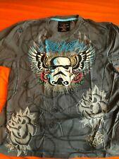 2008 Star Wars Marc Ecko Cut & Sew T-Shirt Storm Trooper Wings - Great Shape